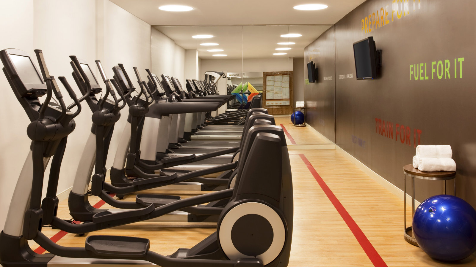 Fitness Center at Sheraton Tribeca New York Hotel